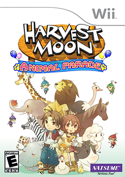 File:Harvest Moon - Animal Parade Coverart-1-.png