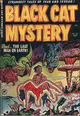 Black Cat Mystery Comics Vol 1 35