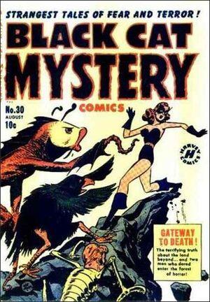 Black Cat Mystery Comics Vol 1 30
