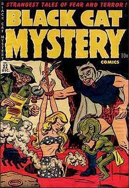 Black Cat Mystery Comics Vol 1 32
