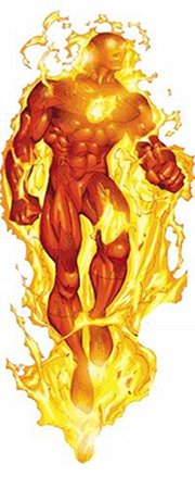 Human Torch Johnny Storm 011