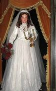 Melanie Ravenswood (Audio-Animatronic bride from Phantom Manor at Disneyland Paris)