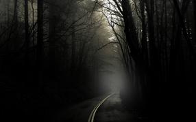 The dark creepy road 2