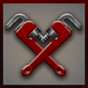 Icons emblems Wrench