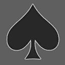 Icons emblems spades