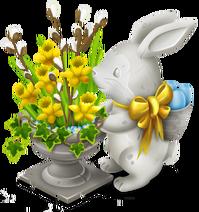 Bunny Flowerpot