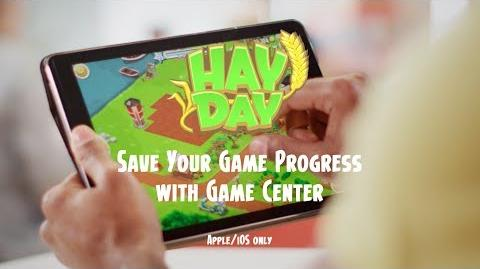 Hay Day- Save your Game Progress with Game Center (iOS)