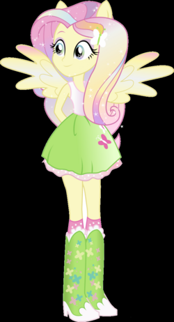 'Fluttershy' Rainbowfied