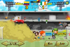 Colombia VS Ireland 1