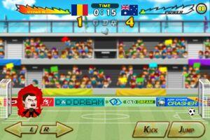 Romania VS Australia 1