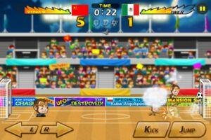 China VS Mexico 1