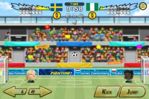 Sweden VS Nigeria 1
