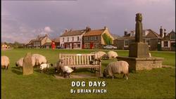 Dog Days title card