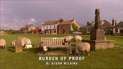 Burden of Proof title card