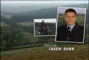 Jason Durr as PC Mike Bradley in the 1997 Opening Titles