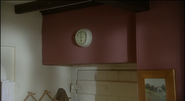 The clock on the wall