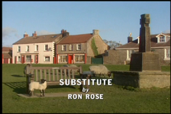 Substitute title card