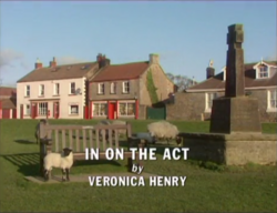 In On the Act title card