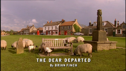 The Dear Departed title card