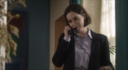 Jackie Bradley on the phone to Adrian in Still Water