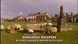 Dangerous Whispers title card