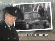 Derek Fowlds as Sgt. Oscar Blaketon in the 1995 Opening Titles