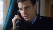 PC Mike Bradley on the phone