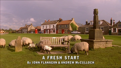 A Fresh Start title card