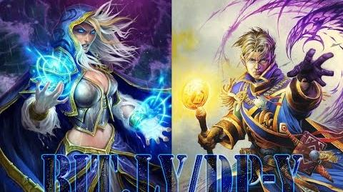 HEARTHSTONE Arena Jaina Proudmoore VS Anduin Wrynn ( Mage vs Priest ) Carcharoth