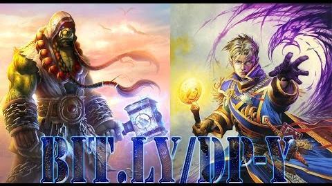 HEARTHSTONE Tavern Brawl Thrall, World Shaman vs Anduin Wrynn ( Shaman VS Priest )Vectordj