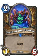 Druid of the Swarm - Taunt