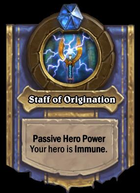 Staff of Origination - heroic
