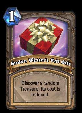 Stolen Winters Veil Gift