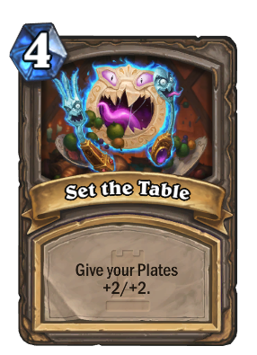 Set the Table - Heroic