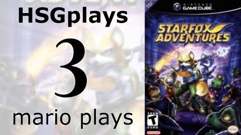 """HSGplays"" Mario Plays - Star Fox Adventures - Flying to Dinosaur Planet Thorntail Hollow 1 Part 3"