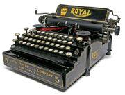 Royal 5 Typewriter