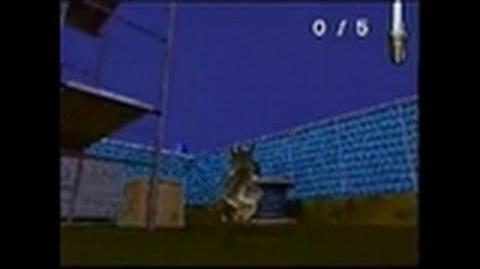 Over the Hedge Nintendo DS Gameplay - Construction yard