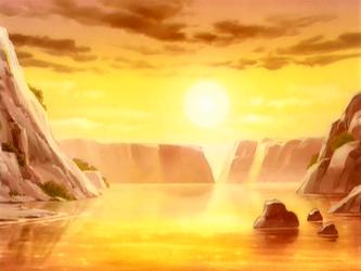 File:Landscape at sunrise.png