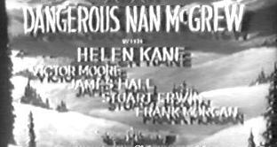 Dangerous Nan Mcgrew Title Screen