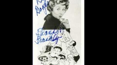 Mae Questel on her role as Betty Boop