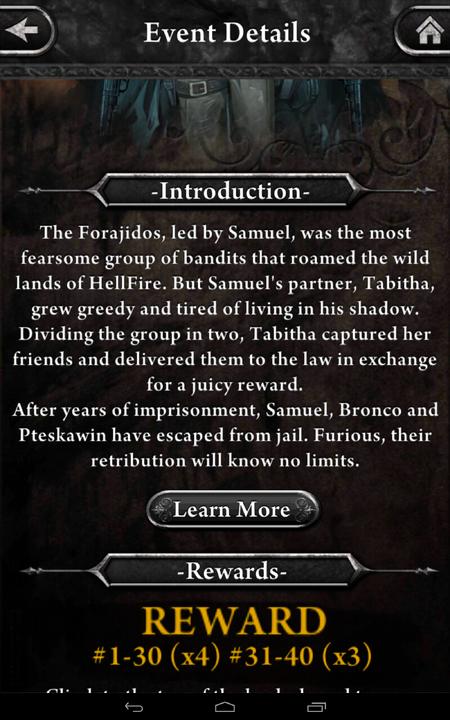 Forajidos Event Detail 2