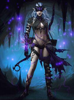 Shadow Fae Archer 3