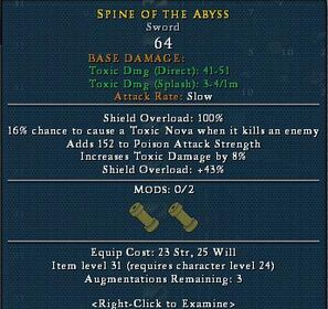 Spyne of abyss