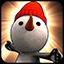 Snowman Grey icon