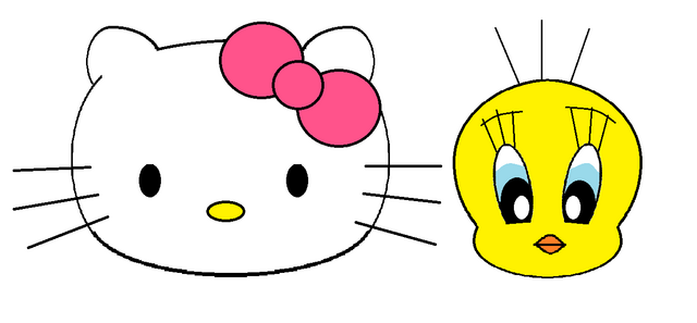 File:Sanrio Characters Tweety Hello Kitty Image006.png