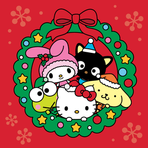 File:Sanrio Characters Keroppi--My Melody--Chococat--Pompompurin--Hello Kitty--Christmas Image001.png