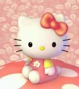 Hello Kitty on a mushroom01