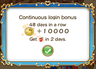 Login bonus day 48