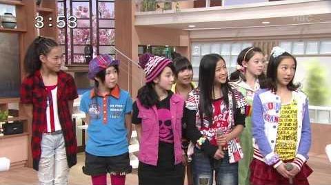 稲場愛香 PEACEFULテレビ初出演 2011