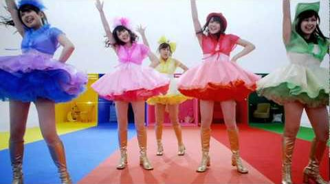 ℃-ute - Sekaiichi HAPPY na Onna no Ko (MV) (Dance Shot Ver